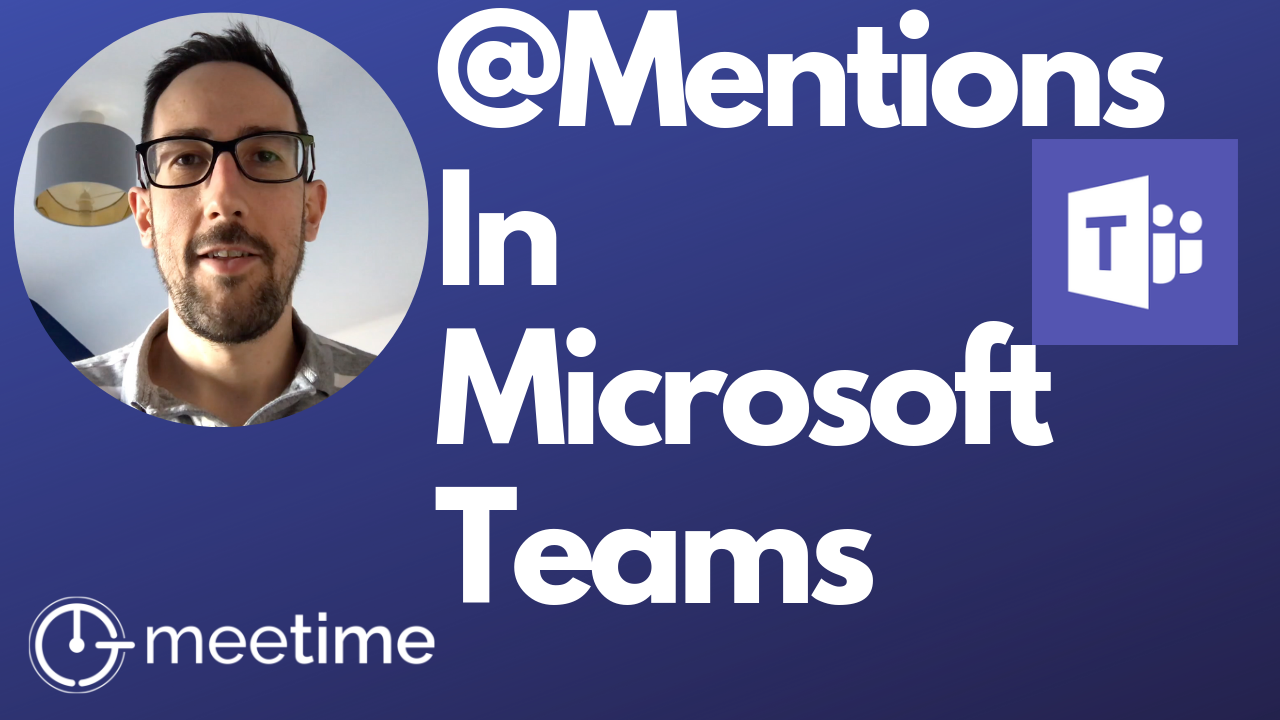 Microsoft Teams Tutorial 2019 - @Mentions and Cross-Channel Mentions